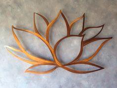 Lotus Flower Metal Wall Art - Lotus Metal Art - Home Decor - Metal Art - Wall…