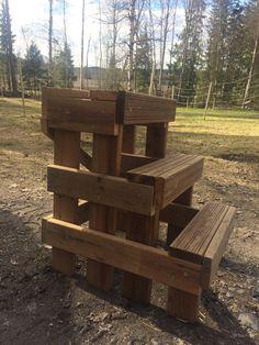 DIY mounting block!