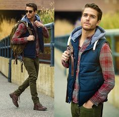Macho Moda - Blog de Moda Masculina: Colete Masculino, em alta pro Outono/Inverno 2014!