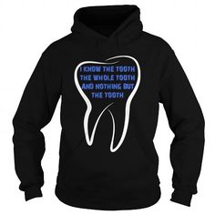 Make this awesome proud Dental Hygienist: Funny Dentist Dental Hygienist Tooth Swearing In Pun T-Shirt as a great gift Shirts T-Shirts for Dental Hygienist