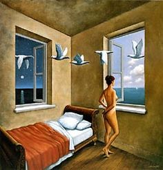 Another great painting by Rafal Olbinski