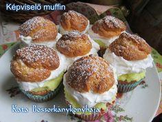 Képviselő muffin (Gluténmentesen is) Muffin, Breakfast, Food, Morning Coffee, Essen, Muffins, Meals, Cupcakes, Yemek