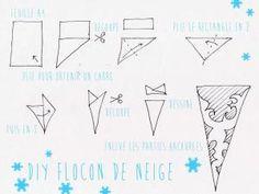 DIY flocons en papier ! - par SO sooo cute