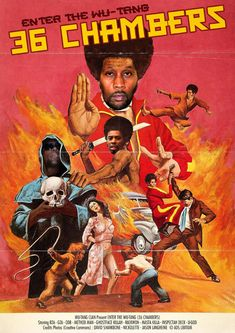 Kung Fu Martial Arts, Martial Arts Movies, Classic Movie Posters, Movie Poster Art, Music Hits, Rap Music, Hip Hop World, Film Poster Design, Hip Hop Art