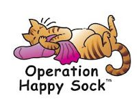 Operation Happy Sock  - volunteers make catnip toys for cats in shelters