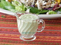 Southwest Chicken Salad with Guacamole Ranch by cookingwithcurls.com