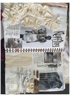#a #level #textiles #sketchbook #inspiration #aleveltextilessketchbookinspiration Mode Portfolio Layout, Fashion Portfolio Layout, Fashion Design Sketchbook, Fashion Design Drawings, Fashion Sketches, Portfolio Design, A Level Textiles Sketchbook, Sketchbook Layout, Sketchbook Inspiration