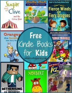 Free Kindle Books for Kids | embarkonthejourney.com