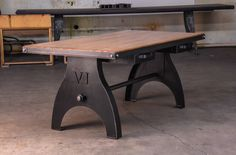Machina Table by Vintage Industrial Furniture