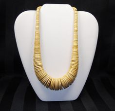 Hey, I found this really awesome Etsy listing at http://www.etsy.com/listing/169945289/vintage-ox-bone-necklace-big-chunky