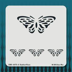 4076-8 Butterflies