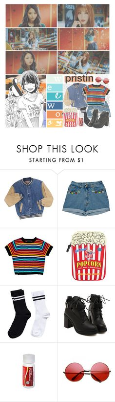 """""""Wee Woo By. PRISTIN"""" by josi-heart ❤ liked on Polyvore featuring Cynthia Rowley, Woouf!, Pieces and INDIE HAIR"""