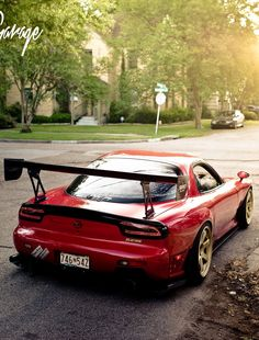 RX-7 FD3S, glow LED tail lights