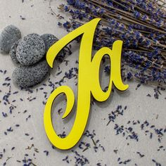 """€16.95 - €83.95 The 3D wooden sign """"Ja"""" – a unique gift for that special person in your life, a personal decoration statement or simply a nice expression. Custom Wedding Gifts, Special Person, Wooden Signs, Decorative Items, Unique Gifts, Gifs, Etsy Shop, Lettering, 3d"""