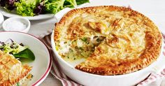 Try this hearty chicken pie the whole family will enjoy! Created byMichael Weldon, MasterChef Australia Series 3 contestant.