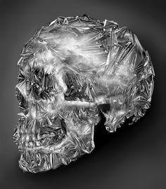 Tinfoil Skull by Eddie Yau Vicky Lau   Society6