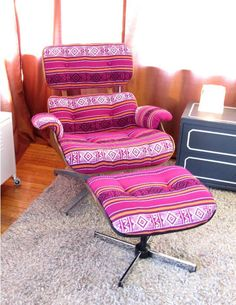 Fun Lounge Chairs eames lounge & ottoman chairs with maharam upholstery | furniture