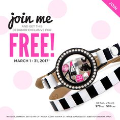 Join Origami Owl as a new Origami Owl Consultant and earn this free gift! Exclusive Origami Owl Spring New Consultant gift! Email kristy@foreversparkly.com with questions!