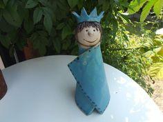 Zaunhocker Prinzessin aus Keramik von Tongestalten auf DaWanda.com