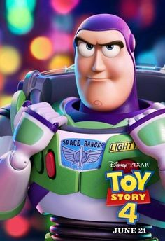 Pixar Animation Studios and Walt Disney Pictures released on Saturday a bunch of individual posters for the fourth and last installment of Toy Story film franch Toy Story 3, Toy Story Party, Buzz Lightyear Costume, Toy Story Buzz Lightyear, Disney Toys, Disney Movies, Disney Wiki, Woody Und Buzz, Desenho Toy Story