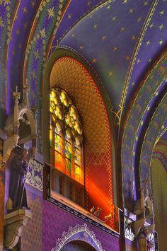 Basilica of St. Francis, Krakow, Poland .