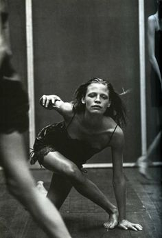 """editorialarchive:  """"Enchanting Mood"""": Tanga Moreau photographed by Peter Lindbergh for Vogue Italia, September 1997"""