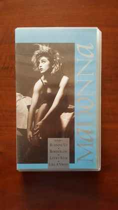 Madonna ‎– Madonna VHS EU 7599 38101-3  WMV 3 NM Rebel Tour