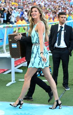 Gisele Bundchen at the World Cup