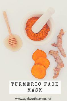 Turmeric Face Mask Tutorial - A Girl Worth Saving