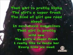 Rick James Super Freak (Lyrics)