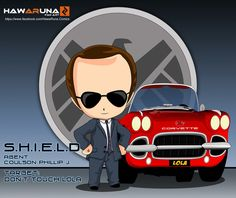 Phil Coulson - Agents of S.H.I.E.L.D. by Hawaruna no touchy lola