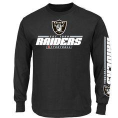 9bf21681e Oakland Raiders Primary Receiver Longsleeve Shirt - Sportsfan Eagles Jacket