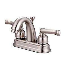Royale Centerset Bathroom Faucet with Double Lever Handles