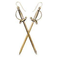 Rapier Earrings