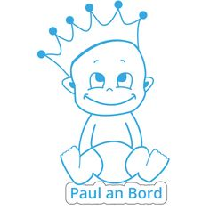 Autosticker  -  Kindername an Bord 4 Smurfs, Fictional Characters, Autos, Madness, Baby Sewing, Sticker, Projects, Pictures, Fantasy Characters