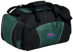 Anchor Personalized - Metro Duffel Gym Travel Bag ** You can get more details by clicking on the image.