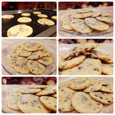 CHOCOLATE CHIP COOKIES WIE BEI SUBWAY Rezept: http://babsiskitchen-foodblog.blogspot.de/2018/05/chocolate-chip-cookies-wie-bei-subway.html