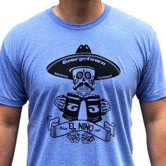 845ee1f3f Georgetown brewing El nino beer shirt. Mens Beer t-shirt. Beer Shirts,