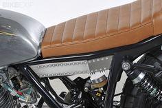 Кастом Yamaha SR500 Bruto