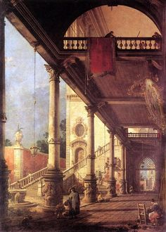 Perspective by CANALETTO #art