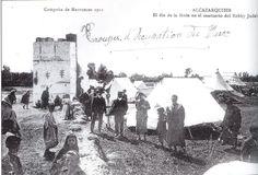 preparation de la hilloula du rabbin JUDAH JABALI, juifs du maroc et d'espagne ensemble (en 1911)