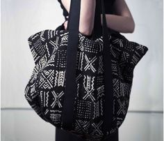 Bogolan Tote by Osei Duro >> Great summer bag!