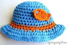 Free Crochet Patterns Baby Boy | ... patterns for a toddler boy sun hat here . Click here for the pattern