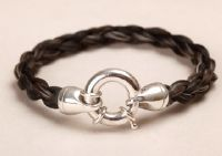 Custom horse hair bracelets