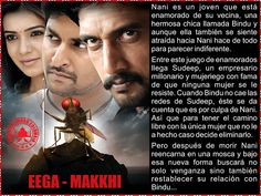 Cine Bollywood Colombia: EEGA - MAKKHI Bollywood, Telugu, Movies, Movie Posters, Colombia, Film Poster, Films, Popcorn Posters, Film Posters