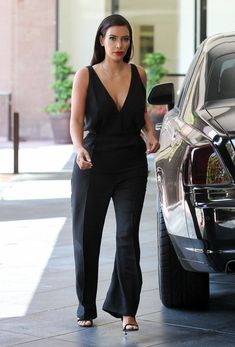 Valentino Sleeveless Jumpsuit and Tom Ford Heels