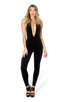 The Black Mamba Vegas Catsuit by Black Milk Clothing $130AUD