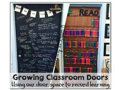 I am Stephanie, an upper elementary teacher, who is obsessed with creating rigorous, engaging, and long lasting lessons for my students. I share practical ideas that can be implemented in the classroom immediately. Classroom Door, Classroom Setup, Classroom Design, School Classroom, Classroom Organization, Classroom Management, Classroom Environment, Classroom Libraries, Organisation Ideas