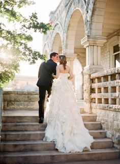 Timeless Austin wedding at Chateau Bellevue: http://www.stylemepretty.com/2014/06/03/timeless-austin-wedding-at-chateau-bellevue/ | Photography: http://www.taylorlord.com/