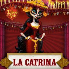Ella es La Catrina: La Reina. ¡Es dulce como el azúcar!